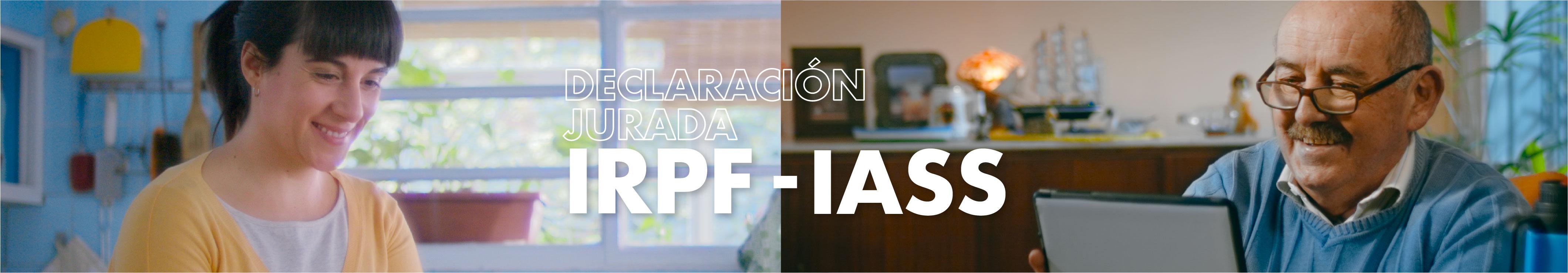 Declaración Jurada IRPF - IASS 2019